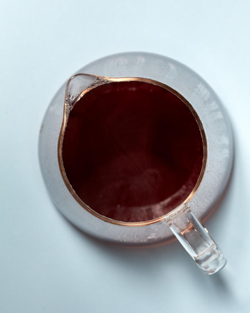 Pour over coffee photo in glass jug