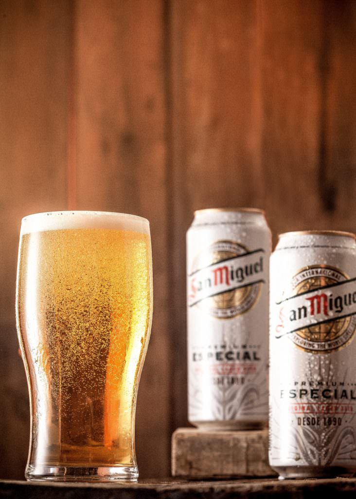 San Miguel beer photography advery